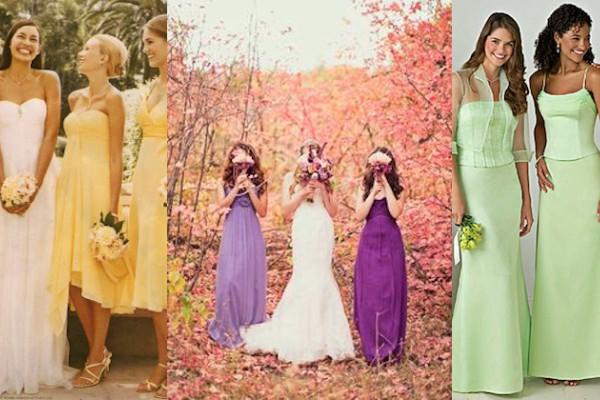 pretty nice 453a0 b180d L'abito da damigella d'onore: idee e colori moda 2016 | La ...