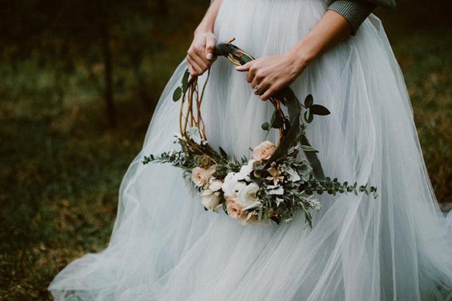 Hoop Bouquet: una elegante novità nel mondo wedding